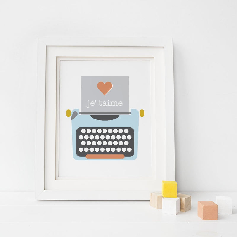 Love Notes Art Print - Sweetpea and Co.