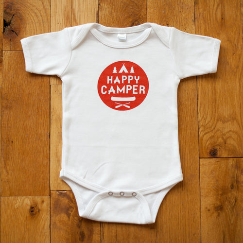 Happy Camper Bodysuit - Sweetpea and Co.