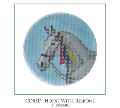 Horse with Ribbons Ornament