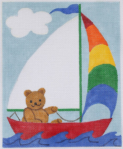 Birth Announcement-Sailing Bear