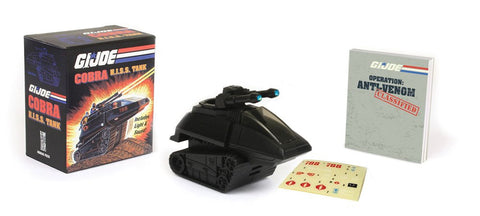 GI Joe Cobra Hiss Tank with Book Kit - Cyber City Comix