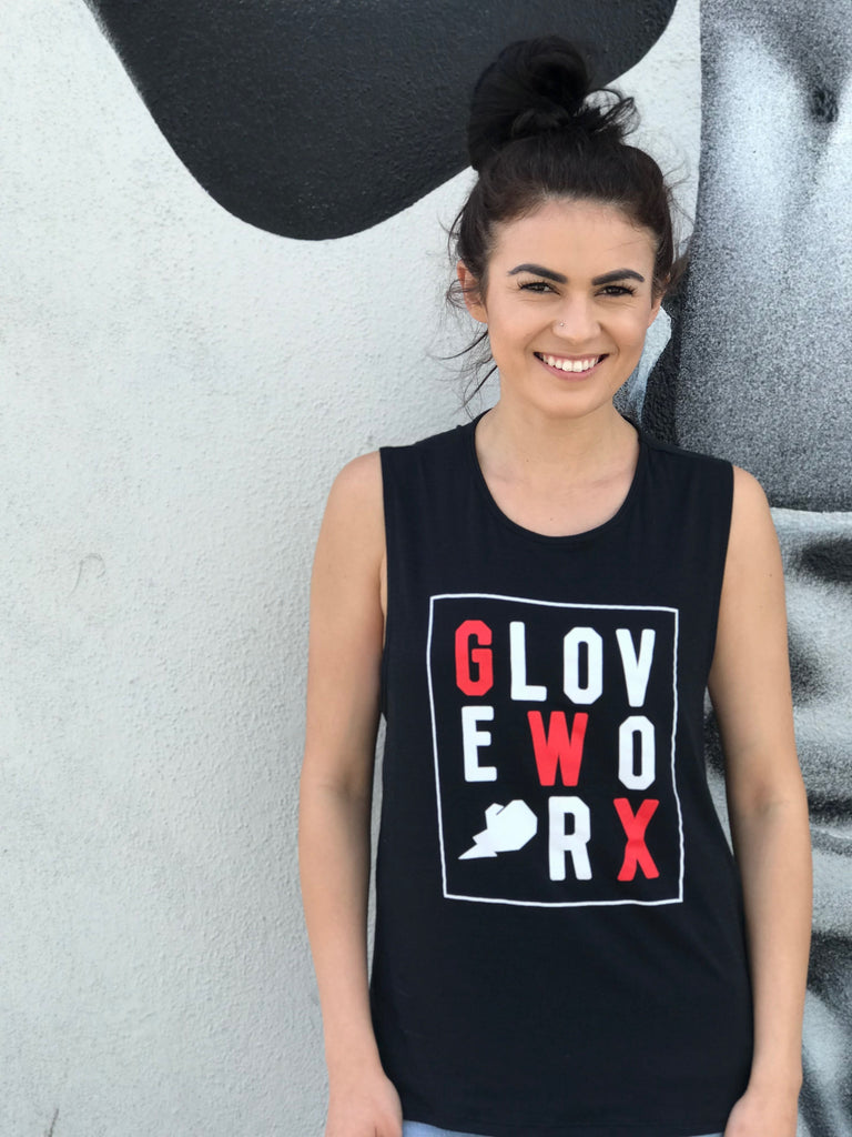 Women's Twist-Back Gloveworx Tank