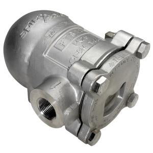 1/2 in NPT FTS14-4.5 Float & Thermostatic Steam Trap, Austenitic Stainless Steel, PMO 65 psig