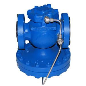 4 in ANSI 150 25 Series Main Valve, Cast Steel, with Stainless Steel Transmission Tubing