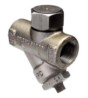 1 in NPT TD42L Thermo-Dynamic Low Capacity Steam Trap with Blowdown Valve, Stainless Steel with ENP Finish