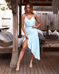 MORGAN Dress (Baby Blue) - Drop Dead Dollbaby