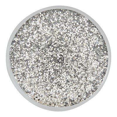 Ginger Snaps Silver Glitter Resin Snap