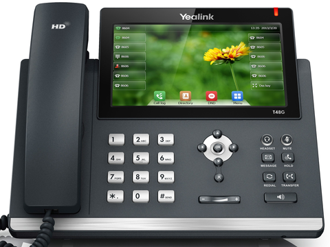 Yealink T48G Large Touch Screen Desk Phone
