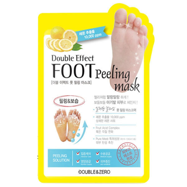 Double Effect Foot Peeling Mask