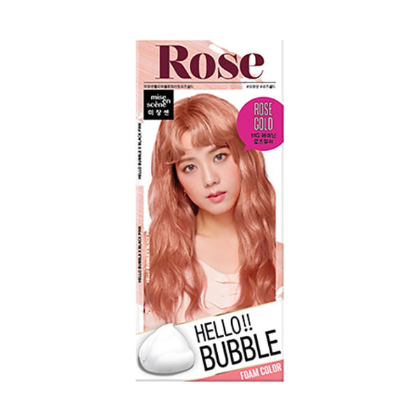 Hello Bubble Hair Colour [#11G Rose Gold]