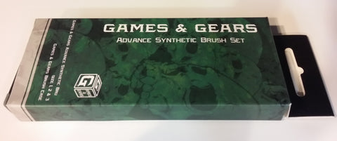 Games & Gears Advance Synthetic Brush Set