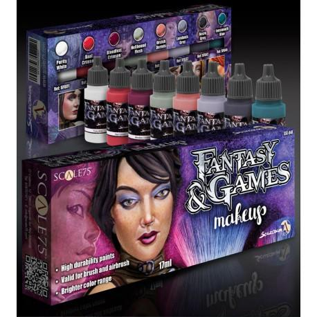 Scale75 Fantasy & Games Makeup color paint set