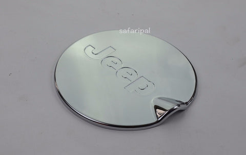 Safaripal Chrome ABS Gas Fuel Tank Cap Cover for Jeep Compass 2011-2015 1PCS