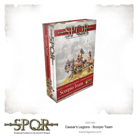 CAESAR'S LEGIONS - Scorpion Team