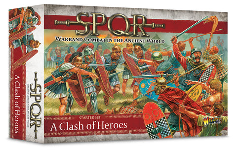SPQR - Clash of Heroes - Starter set