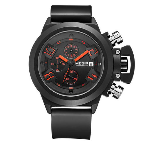 ARMY SILICONE BAND SPORTS WATCH
