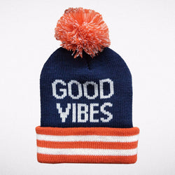 Tiny Whales Good Vibes Beanie