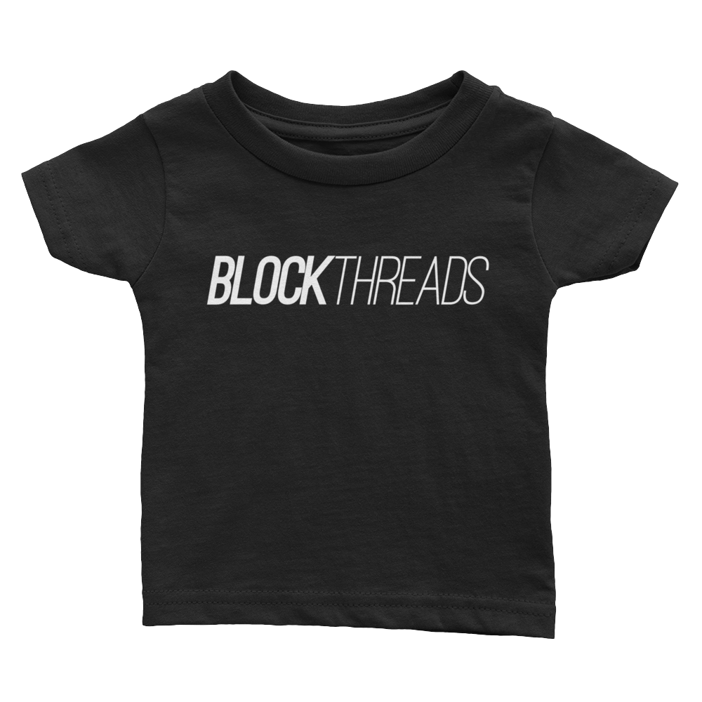 Blockthreads Infant Black T-Shirt