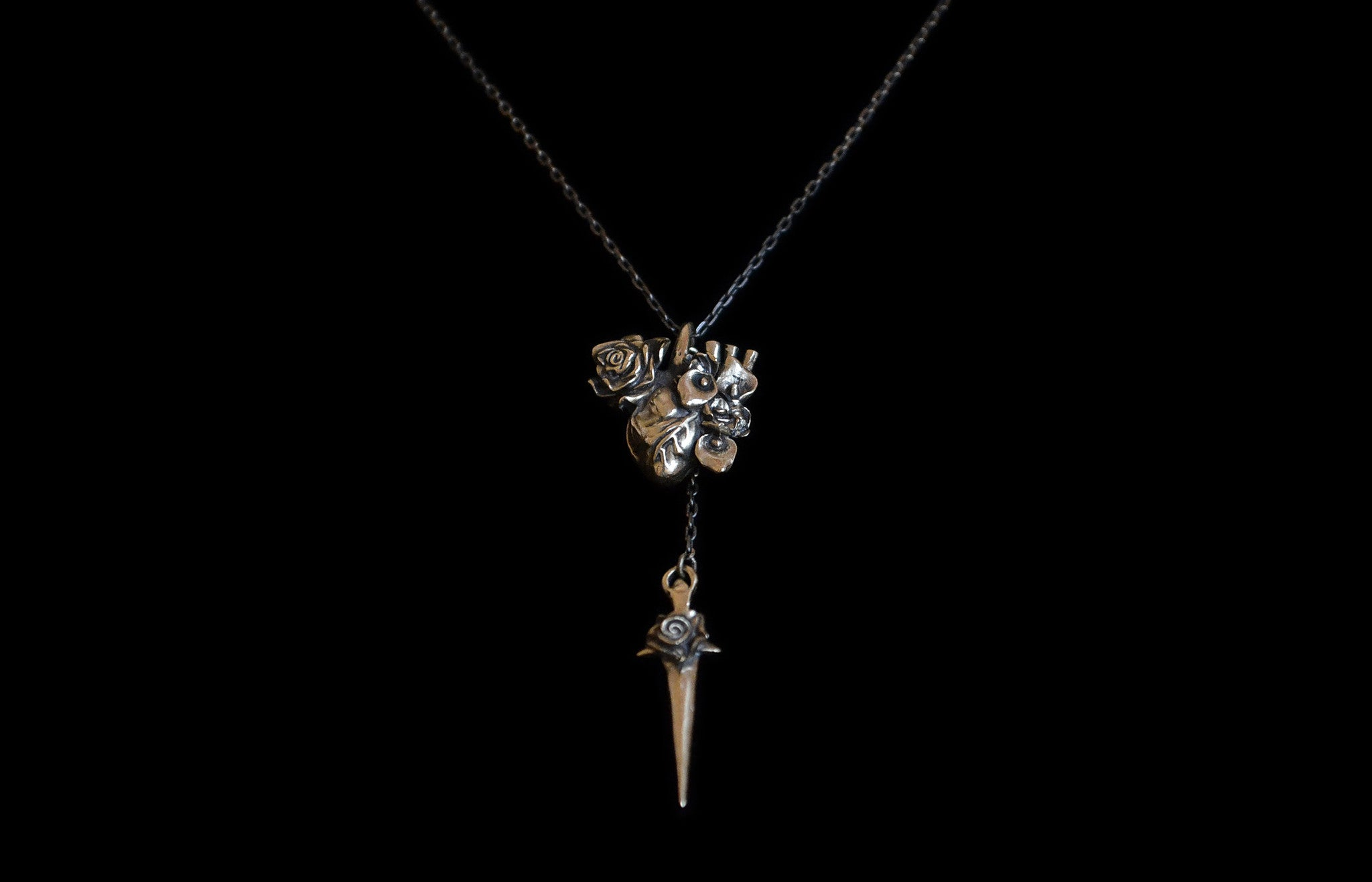 Heart Of The Huntsman Necklace