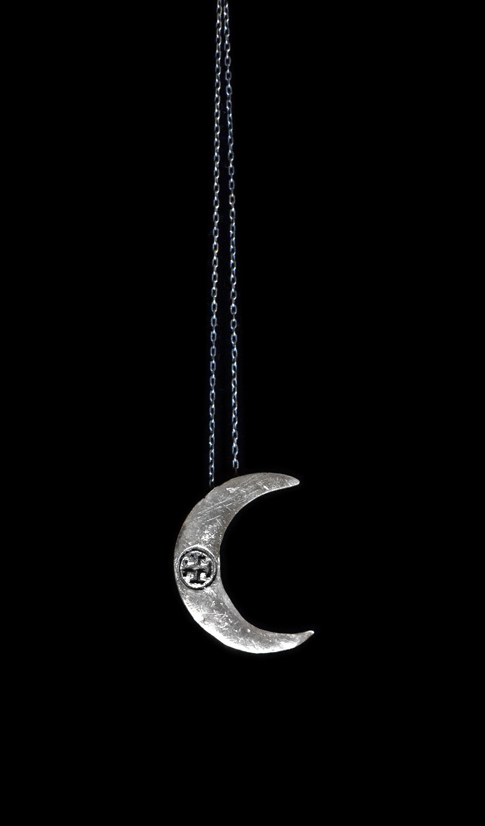 Vestige Crescent Moon Necklace