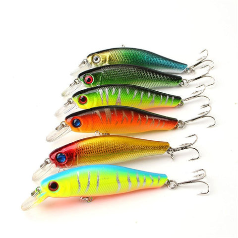 Fishing Lure 6pcs Colorful Fishing Lures 8.5CM/8.5G