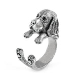 Cute Basset hound ring