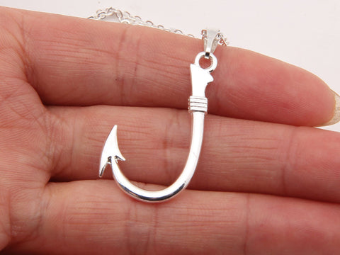 Awesome Fish Hook Necklace