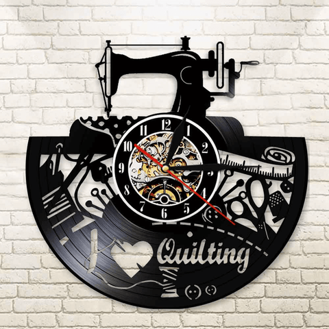 Awesome Quilting Wall Clock