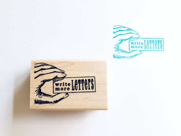 Red Handed Rubber Stamps