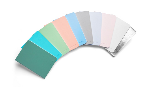 pastel notebook set