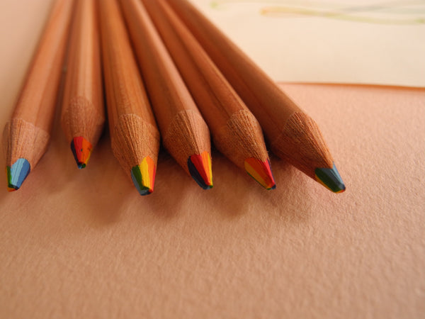 Rainbow Lead Japanese Colored Pencils