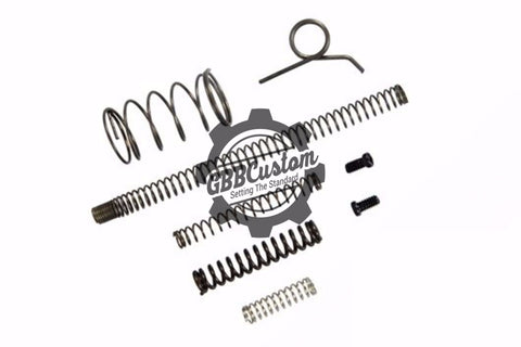 GBBCustom Replacement Spring Set For TM Tokyo Marui Hi-Capa 5.1/4.3 Series Airsoft GBB (TM / WE / KJW)