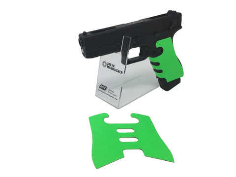 GBBCustom Glock Gen 3/4 Shooter Ready Grip Tape (Zombie Green) For G17, G18, G22, G24, G34, G35