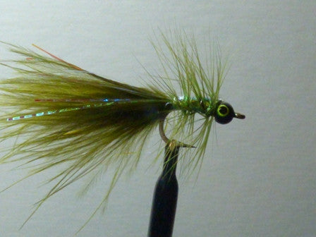 Palmered Eyed Dog Nobblers Dark Olive