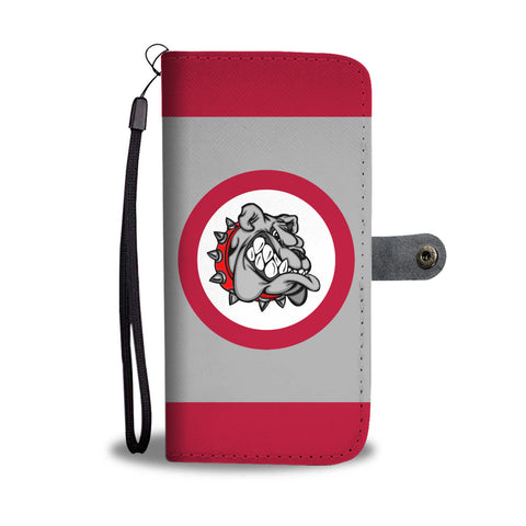 Bulldog Phone Wallet Case With RFID Protection