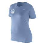 Nike S/S Legend Travel Tee, Sky Blue (Girls)