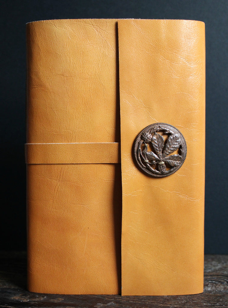 Golden Earth Leather Journal - SOLD