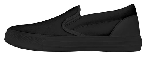 Seven Tribes Black with Sunset Sopo Mens Slip ons White Sole Shoes