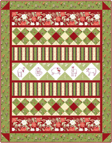 Oh Holy Night Quilt Pattern - Digital
