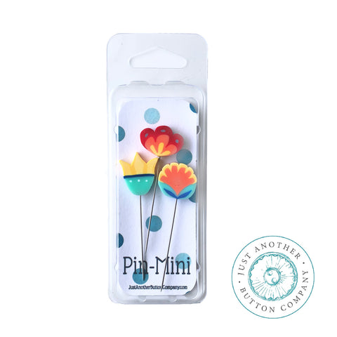 Decorative Pins - Happy Little Flowers Mini Pack