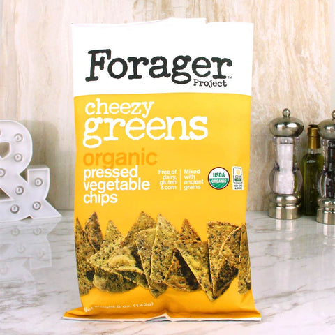 Forager Organic Vegetable Chips Cheezy