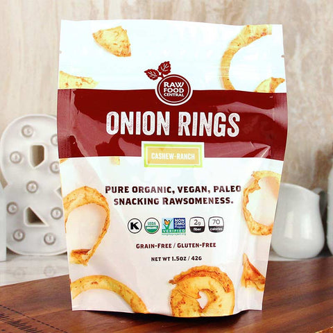 Raw Food Central Curt's Classic Onion Rings