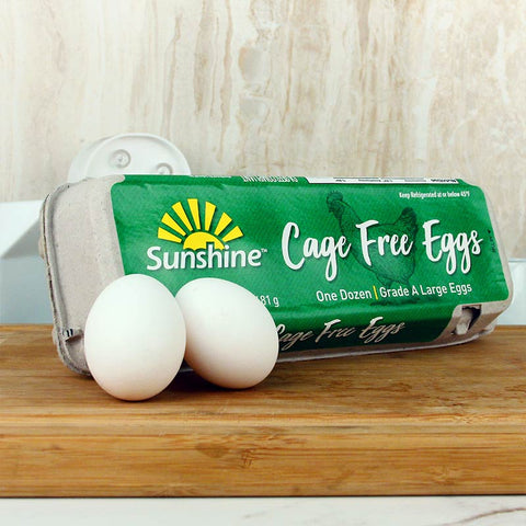 California Sunshine Large White Cage Free Dozen Eggs