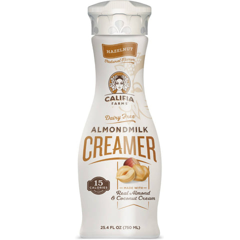 Califia Farms Creamer Hazelnut Almond Milk 24oz