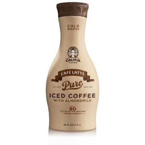 Coffee - Califia Farms Pure Iced Coffee Latte 48 Oz