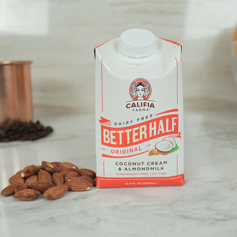 Califia Farms Better Half Original Coconut Cream & Almondmilk 16.9oz - Milk and Eggs - 1