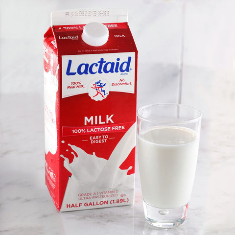 Lactaid 100% Lactose Free Whole Milk - Milk and Eggs