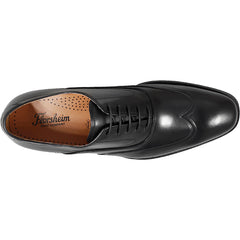 Florsheim Belfast Wingtip Oxford in Black - Rainwater's Men's Clothing and Tuxedo Rental