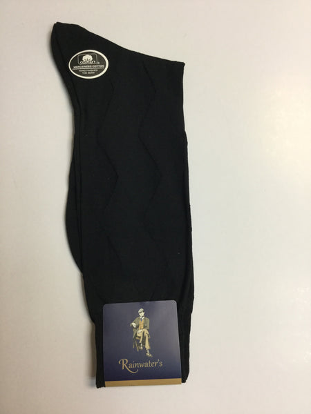 Rainwater's Mercerized Cotton Diamond Weave Dress Sock - Rainwater's Men's Clothing and Tuxedo Rental