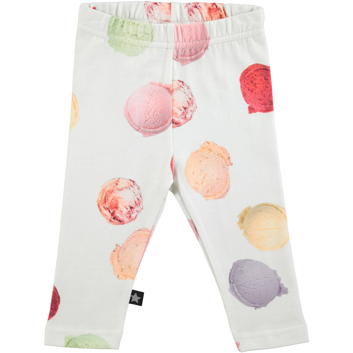 Molo White Scoops Leggings - Ladida